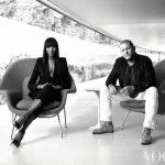ジョナサン・アイブ氏 ナオミ・キャンベル氏 Vogue