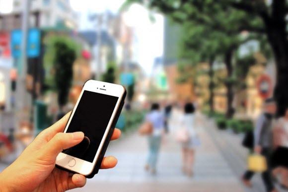 PhotoAC フリー素材 iPhone 街歩き