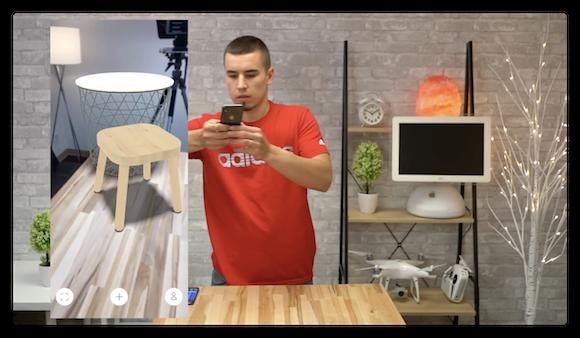 ARアプリ対決 AppleInsider iPhone X