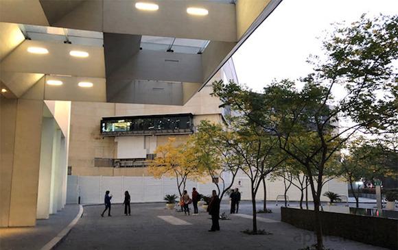 Apple Store メキシコ 建築現場