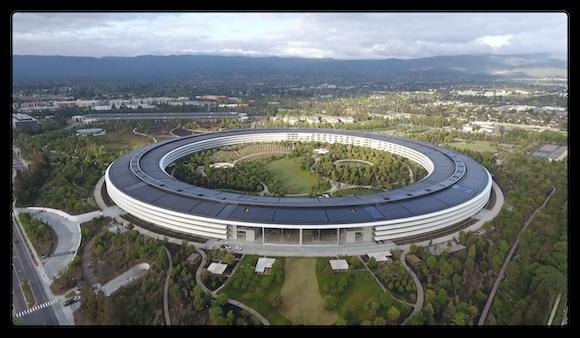 Apple Park 2018年4月下旬