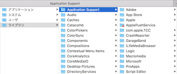 ApplicationSupport