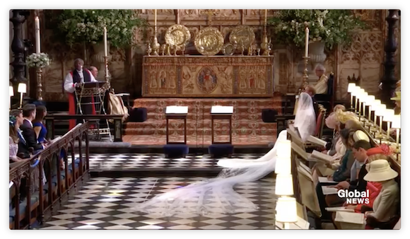 ヘンリー王子とメーガン・マークルさんの結婚式 iPad