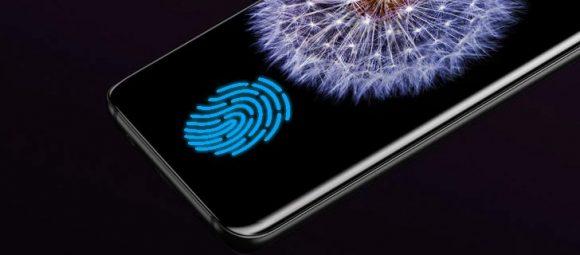 指紋認証センサー galasy s10