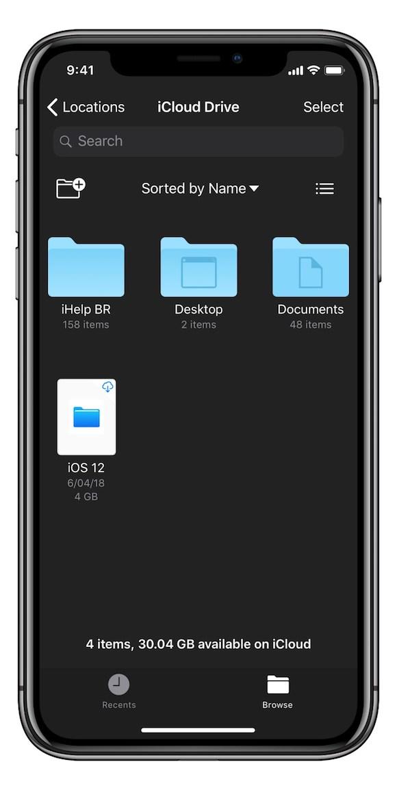 iOS12 コンセプト iHelp BR