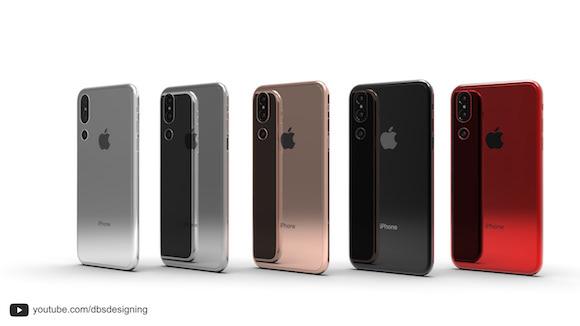 iPhone トリプルカメラ コンセプト Behance