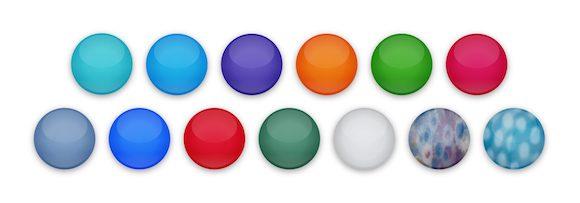 iMac カラーバリエーション