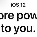 iOS12 ベータ2