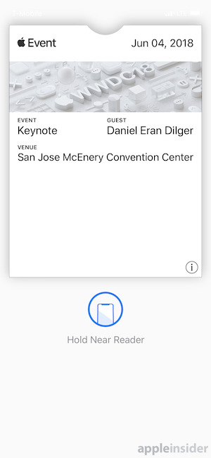 WWDC 18 NFCタグ AppleInsider