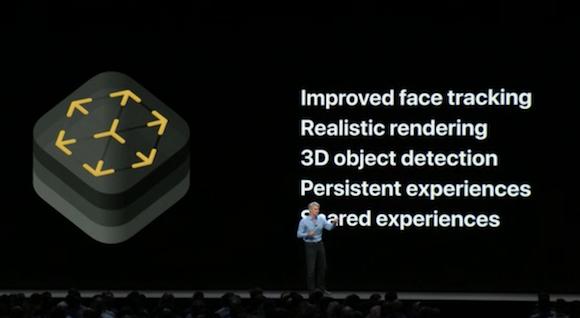 Apple WWDC 18 ARKit 2.0