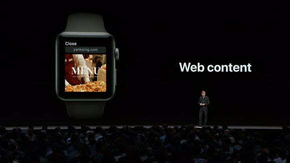 WWDC 18 watchOS 5 Webコンテンツ