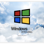 Windows 95 2018 Edition