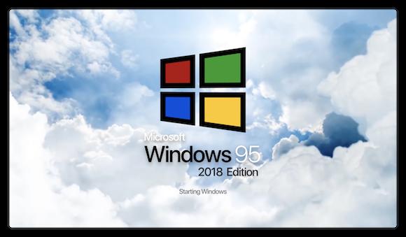 Windows 95 2018 Edition