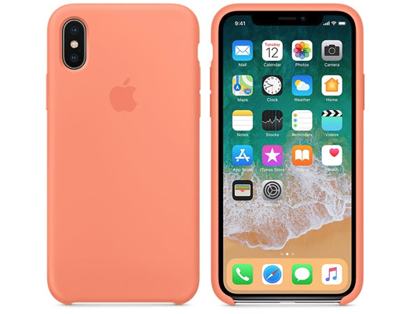 x case peach