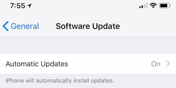 iOS12 自動アップデート 9to5Mac