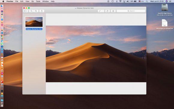 macOS Mojave「ダイナミックデスクトップ」 iDownloadBlog