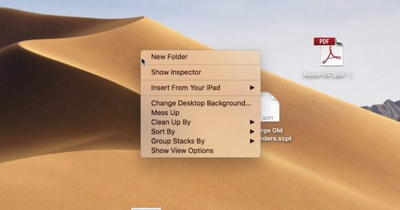 macOS Mojave Mess Up