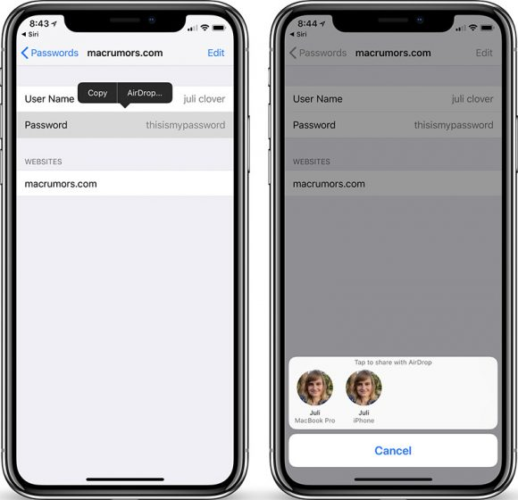 device management iphone ios12ではairdropでパスワードが共有可能に iphone mania 1415