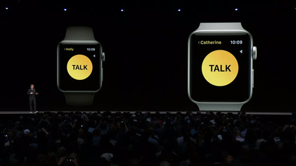 watchOS walky talky