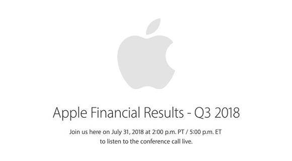 apple 業績発表