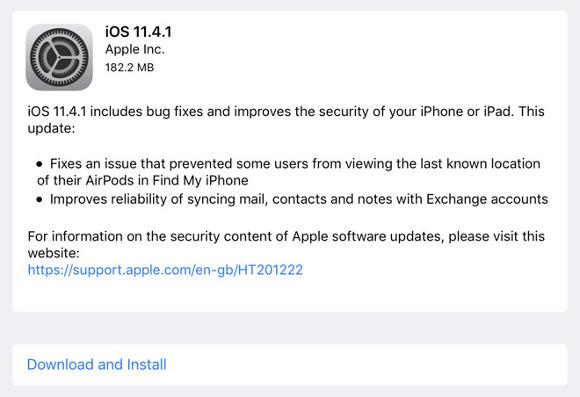 ios11.4.1