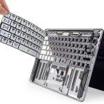 第3世代バタフライキーボード iFiixit