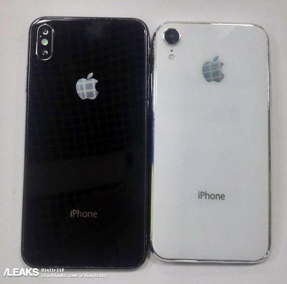 6.1インチ 6.5インチ iPhone iPhone X PLus Slash Leaks