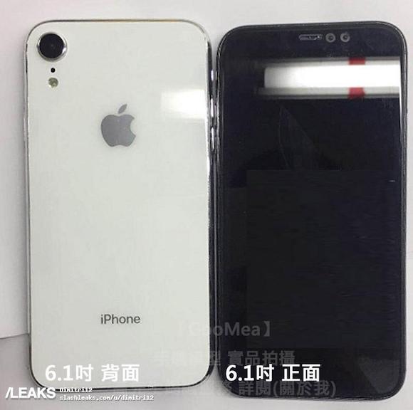 6.1インチ iPhone Slash Leaks