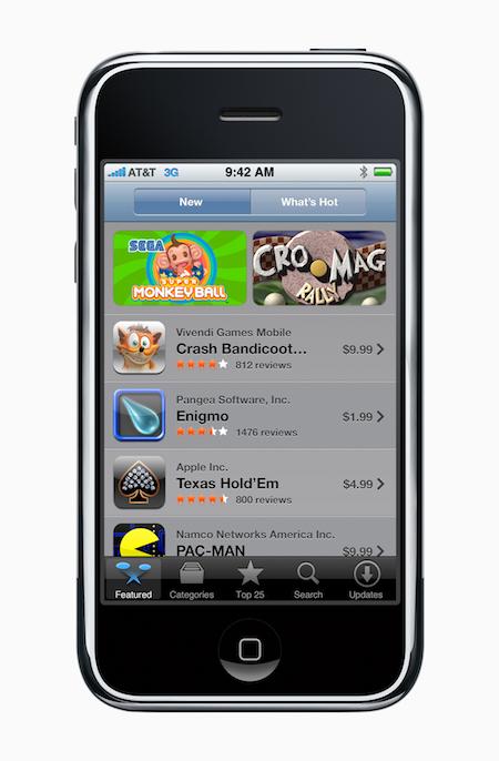 Apple App Store 10周年