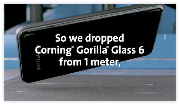 Corning Gorilla Glass 6 YouTube