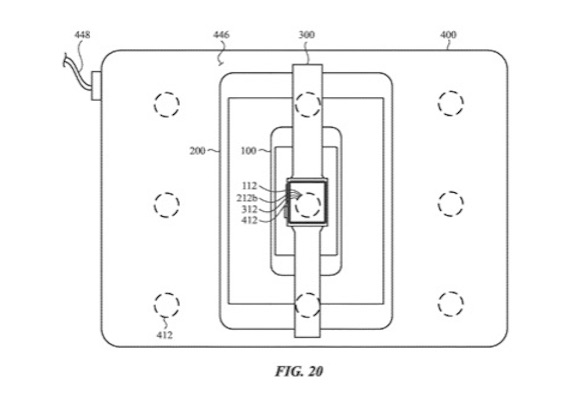 Apple 特許 端末間 ワイヤレス充電 USPTO Fig20
