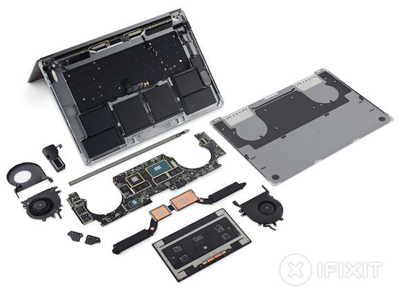 MacBook Pro 2016 15inch iFIxit