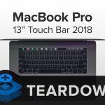 iFIxit 2018 MacBook Pro 13インチ 分解