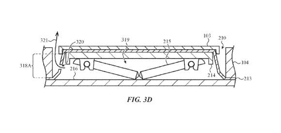 バタフライキーボード 特許