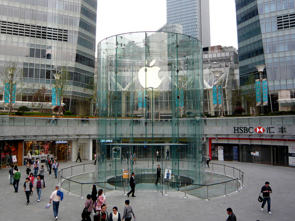apple store 中国 上海