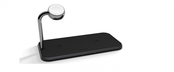 zens Dual+Watch Aluminium Wireless Charger