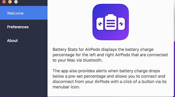 MacとAirPodsを簡単接続、バッテリー残量も確認できる無料アプリ