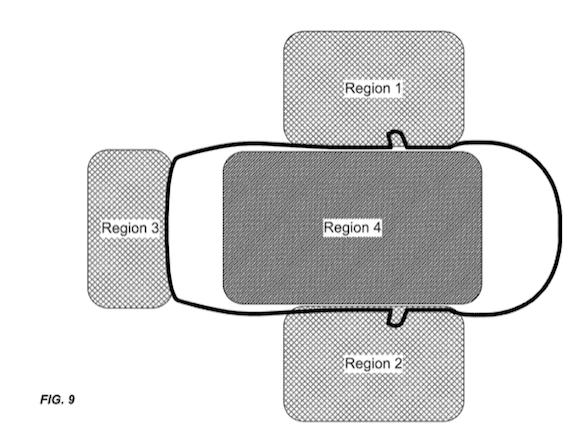 Apple 自動車 スマートキー 特許 USPTO