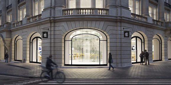 オランダ Apple Store