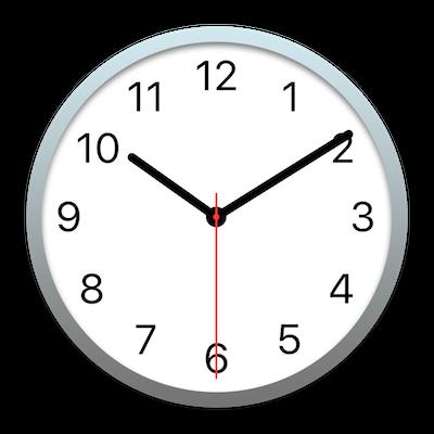 時計 アイコン Mac