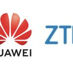 Huawei ZTE ロゴ