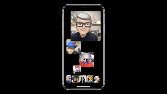 iOS12 グループFaceTime WWDC 18