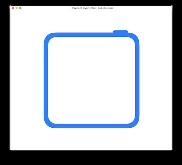 2018 iPad Pro アイコン iOS12 ベータ @_inside