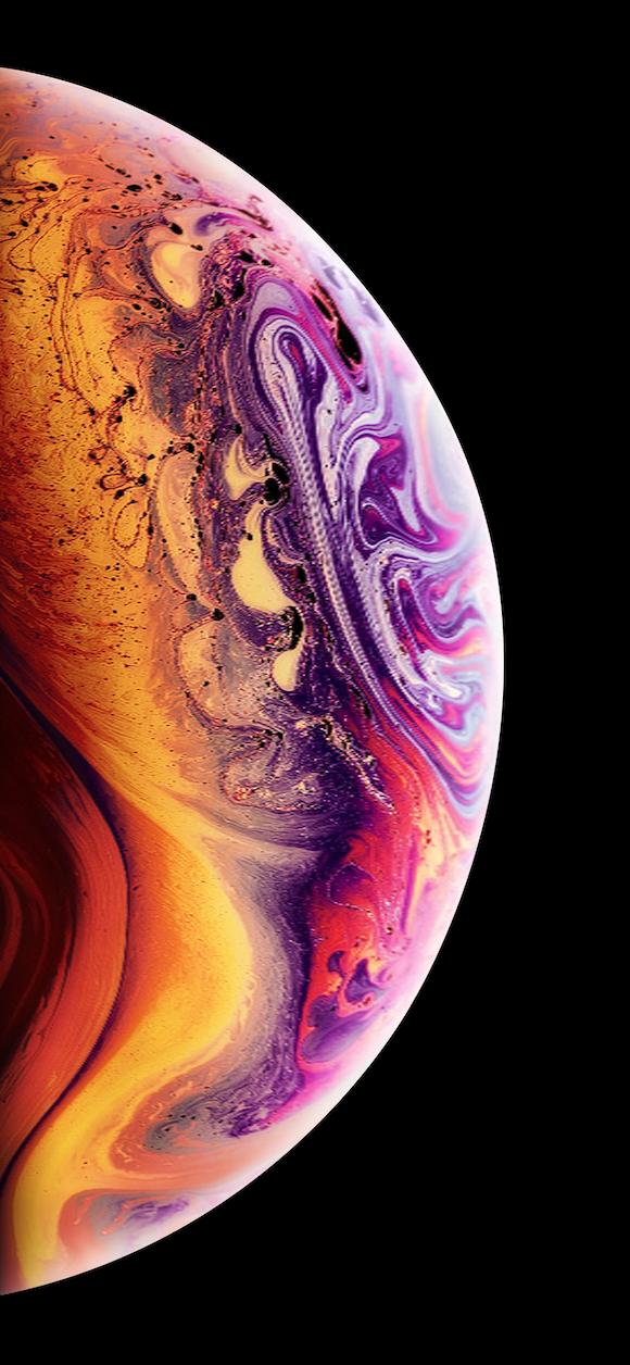 iPhone XS 壁紙 9to5Mac