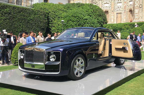 Rolls-Royce Sweptail (Vida Unique)