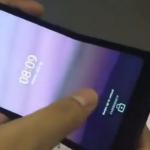 BOE 折りたたみ スマートフォン