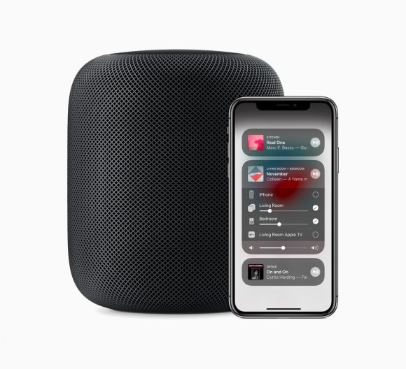 Apple-HomePod-Pair-iPhoneX-09122018