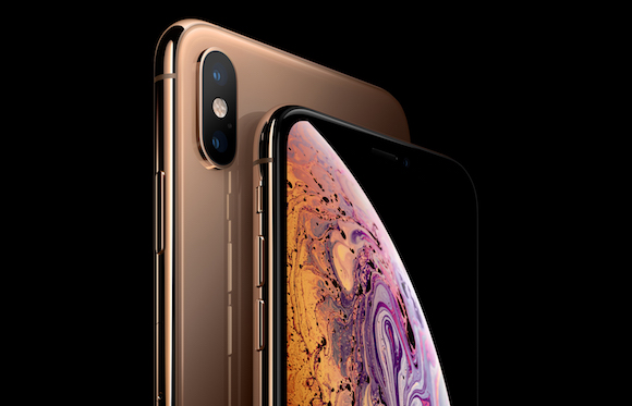 Apple iPhone XS ゴールド