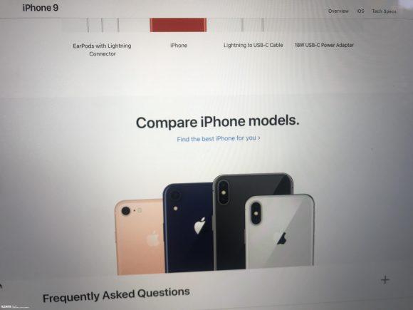 iPhone9 SlashLeaks