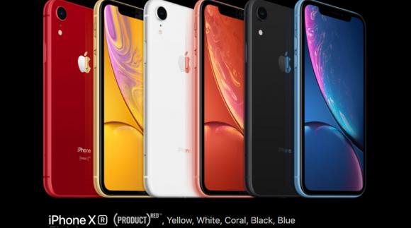 iphone xr ラインナップ カラーバリエーション